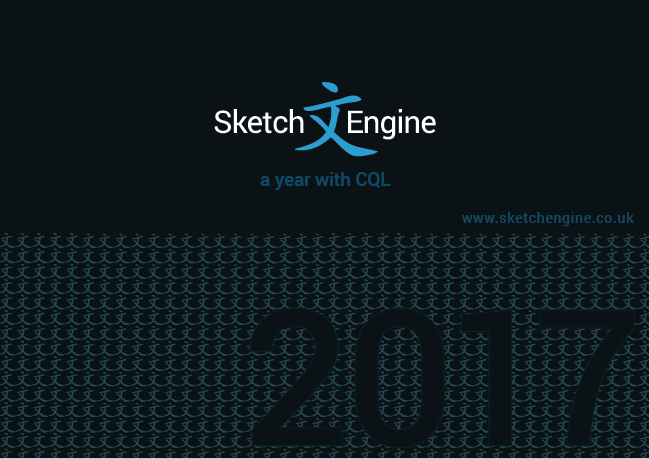 Sketch Engine CQL calendar