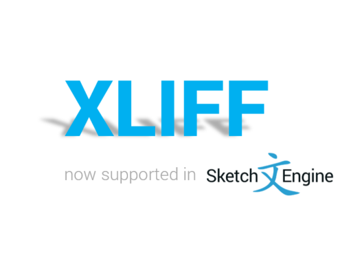 XLIFF support in Sketch Engine