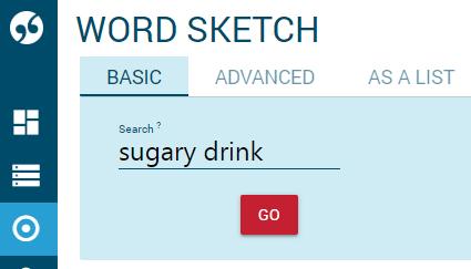 Multiword sketch