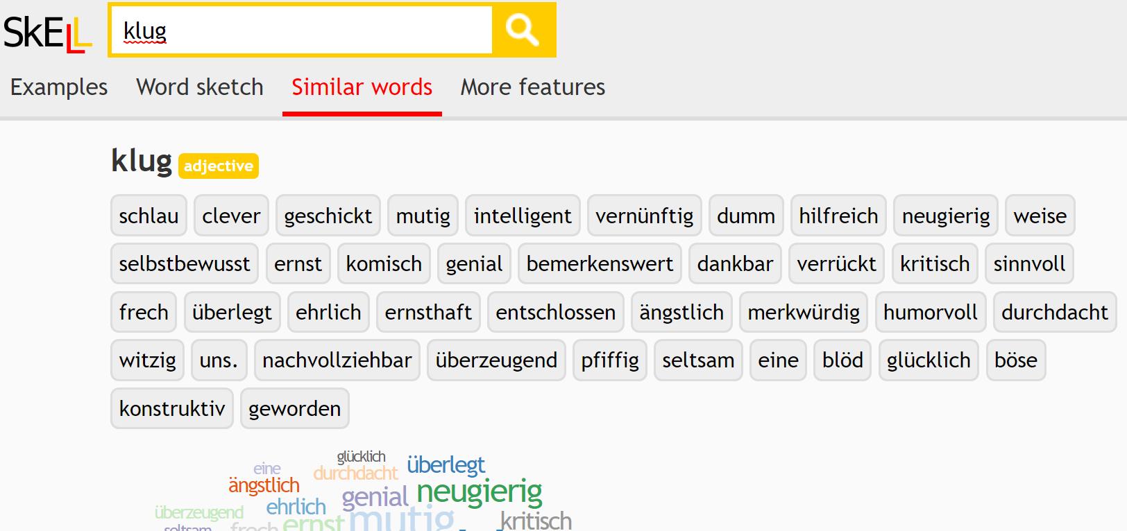 deskell - thesaurus