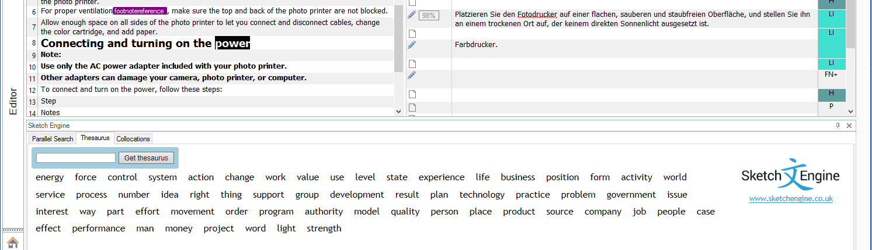 SDL Trados Studio plugin | Sketch Engine