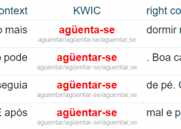 Concordance from ptTenTen Portuguese corpus